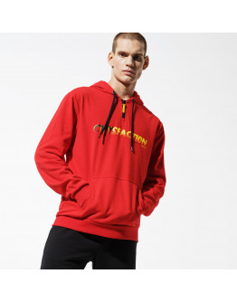 CONFRONT BLUZA CITY RED HOODY