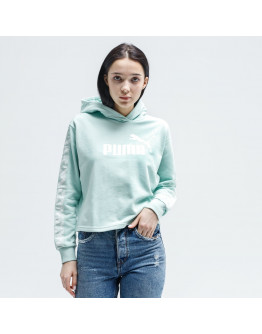 PUMA BLUZA Z KAPTUREM AMPLIFIED CROPPED TR