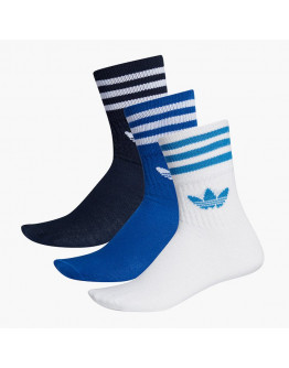 Носки Adidas Originals Mid-Cut Crew 3Pack ED9395